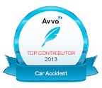 AVVO Top Contributor 2013 - Car Accident