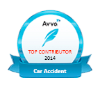 AVVO Top Contributor 2014 - Car Accident