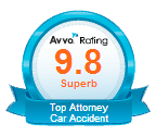 AVVO Superb Rating - 9.8 - Car Accidents